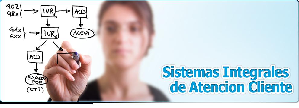 Sistemas Integrales de Atencion Cliente.